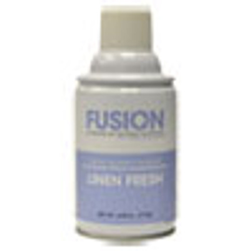 Fresh Products Fusion Metered Aerosols  Linen Fresh  6 25 oz  12 Carton (FRSMA12LF)