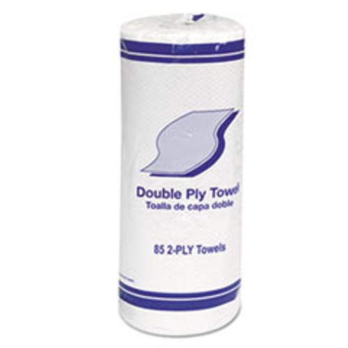 GEN Kitchen Roll Towels  2-Ply  11   White  85 Roll  30 Rolls Carton (GEN1797)