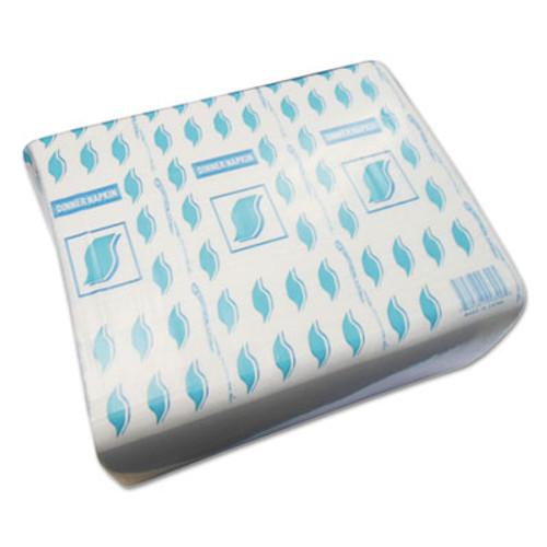 GEN Dinner Napkins  2-Ply  15 x 17  White  150 Pack  20 Packs Carton (GENNAPKDINW)