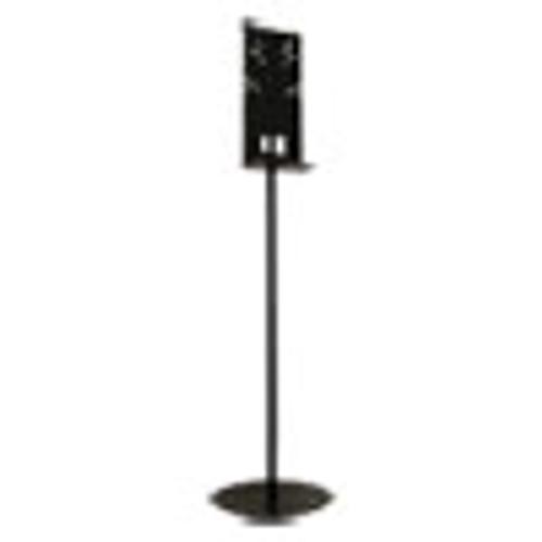 Vulcan Hand Sanitizer Stand  12  dia x 48  h  Black (GN1102468401BA)