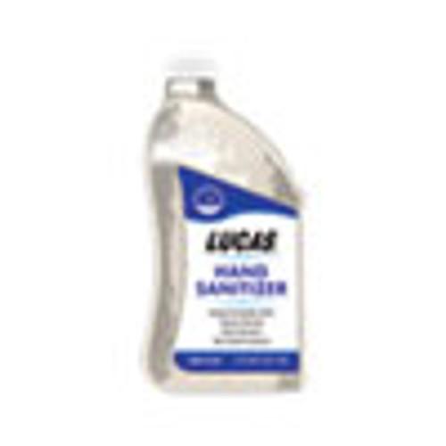 Lucas Oil Hand Sanitizer  0 5 gal Bottle  Unscented  6 Carton (GN111175)