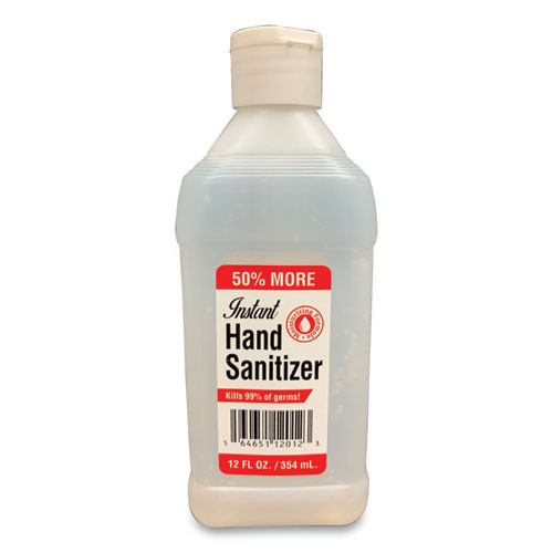 GEN Hand Sanitizer  12 oz Bottle  Unscented (GN112SAN24EA)