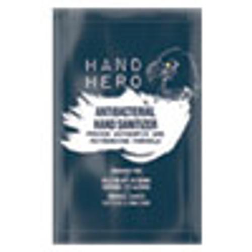 HAND HERO Antibacterial Hand Sanitizer Sachet  0 07 oz  50 Box  48 Boxes Carton (GN1H17011CT)