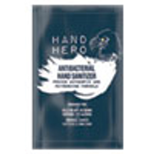 HAND HERO Antibacterial Hand Sanitizer Sachet  0 07 oz  50 Box  48 Boxes Carton (GN1H17011CT)