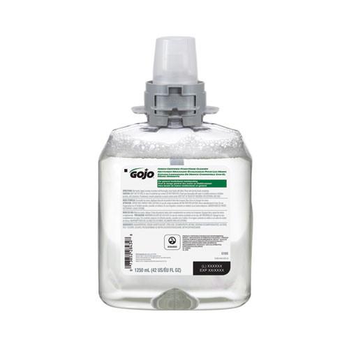 GOJO Green Certified Foam Hand Cleaner  1250 mL Refill  4 Carton (GOJ516504CT)