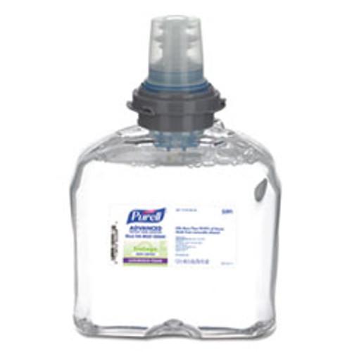 PURELL Advanced Hand Sanitizer Green Certified TFX Foam Refill  1200 ml  Clear (GOJ539102EA)