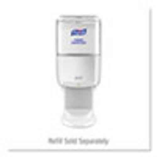 PURELL ES6 Touch Free Hand Sanitizer Dispenser  1200 mL  5 25  x 8 56  x 12 13   White (GOJ642001)