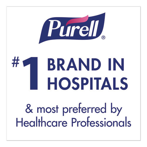 PURELL Healthcare Advanced Hand Sanitizer Foam  1200 mL  Clean Scent  For ES6 Dispensers  2 Carton (GOJ645302)