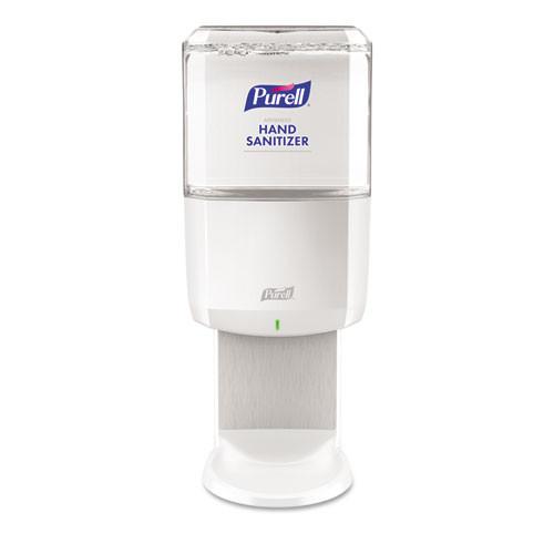 PURELL ES8 Touch Free Hand Sanitizer Dispenser  1200 mL  5 25  x 8 56  x 12 13   White (GOJ772001)