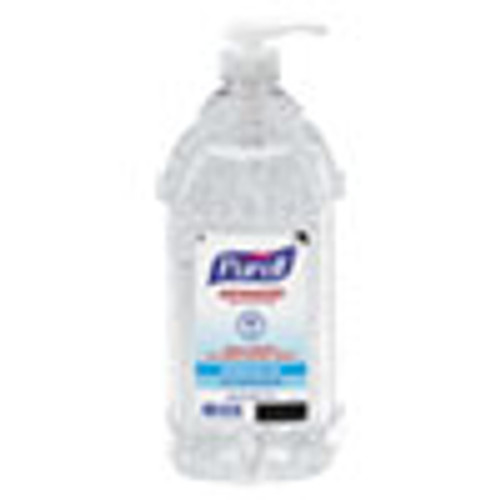 PURELL Advanced Hand Sanitizer Refreshing Gel  Clean Scent  2 L Pump Bottle  4 Carton (GOJ962504CT)