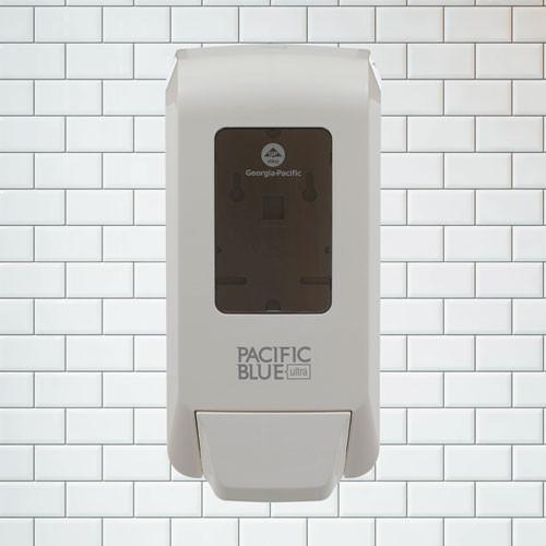 Georgia Pacific Professional Pacific Blue Ultra Soap Sanitizer Dispenser  1200 mL  White (GPC53058)