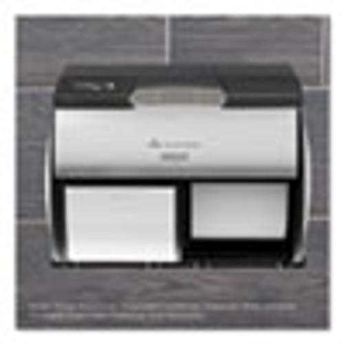 Georgia Pacific Professional ActiveAire Automated Freshener Dispenser for Compact Bath Tissue Dispenser  10 63  x 2 88  x 3 75   Black (GPC56765)