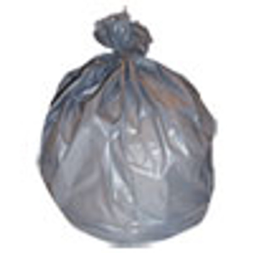 Heritage High-Density Waste Can Liners  60 gal  22 microns  38  x 60   Silver  150 Carton (HERZ7660WS)