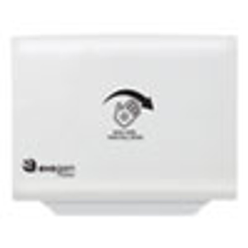HOSPECO Evogen No Touch Toilet Seat Cover Dispenser  16 14  x 12  x 2   White (HOSEVNT1W)