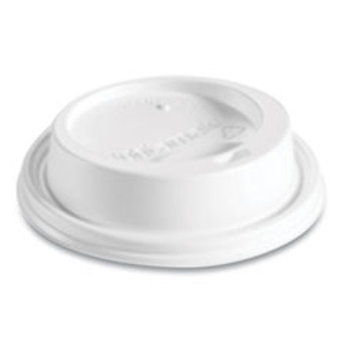 Huhtamaki Hot Cup Lids  Fits 8 oz Hot Cups  Dome Sipper  White  1 000 Carton (HUH89434)