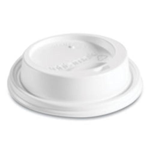Huhtamaki Hot Cup Lids  Fits 8 oz Hot Cups  Dome Sipper  White  1 000 Carton (HUH89434)