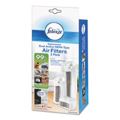 Honeywell Air Purifier Filter Refill  5 1 8  x 1 5 8  x 11 7 8   2 each (HWLFRF102B)