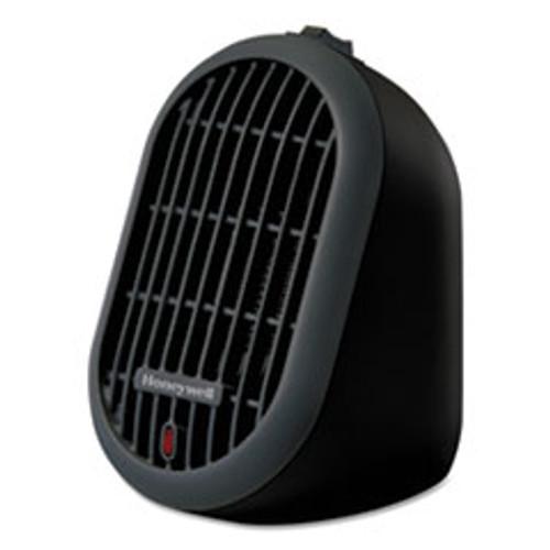 Honeywell Heat Bud Personal Heater  250 W  4 14 x 4 33 x 6 5  Black (HWLHCE100B)