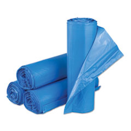 Inteplast Group High-Density Commercial Can Liners  33 gal  14 microns  30  x 43   Blue  250 Carton (IBSBRS304314BL)