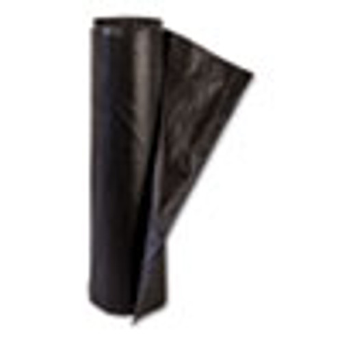 Inteplast Group High-Density Commercial Can Liners  45 gal  14 microns  48  x 40   Black  250 Carton (IBSS404814K)