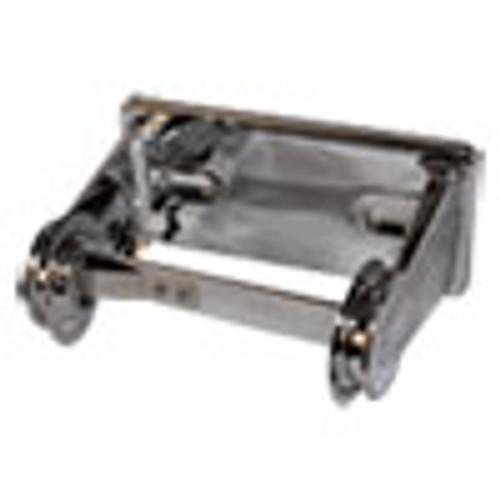 Impact Single Roll Toilet Tissue Dispenser  6 5 x 4 5 x 2 75  Chrome  1 Dozen (IMP2500DZ)