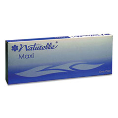 Impact Naturelle Maxi Pads   8 Ultra Thin  250 Individually Wrapped Carton (IMP25131073)