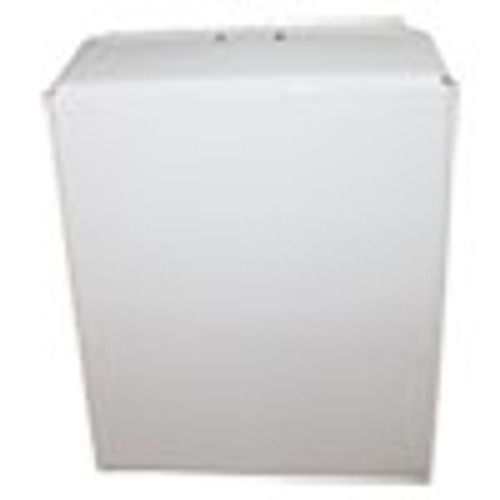 Impact Metal Combo Towel Dispenser  Metal  11 x 4 5 x 15 75  Off White (IMP4090W)
