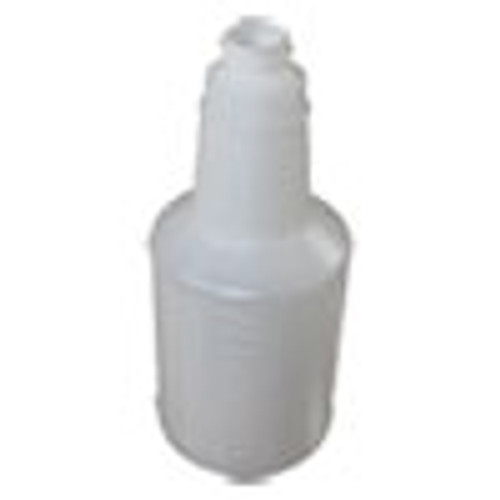 Impact Plastic Bottles with Graduations  24 oz  Clear  24 Carton (IMP5024WG2491)