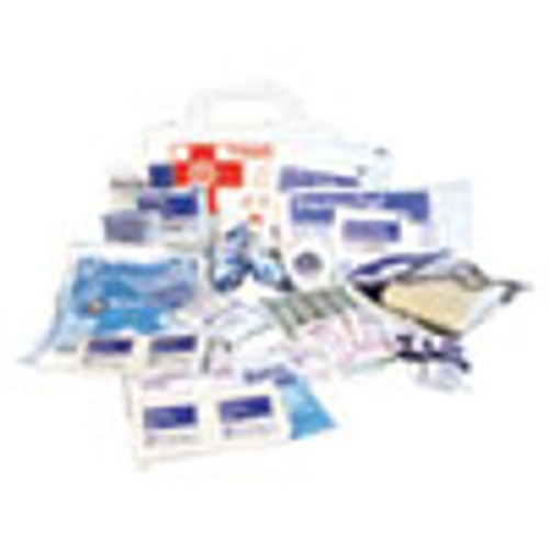 Impact 10-Person First Aid Kit  62 Pieces  8 5 x 5 5 x 3 25  Plastic Case (IMP7317)