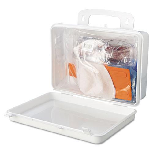 Impact Bloodborne Pathogen Cleanup Kit  OSHA Compliant  Plastic Case (IMP7351)