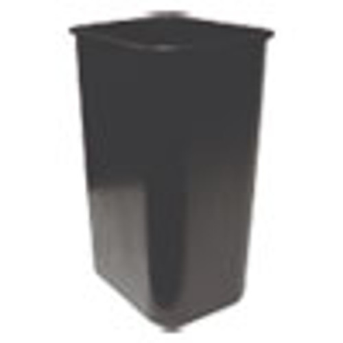 Impact Soft-Sided Wastebasket  Rectangular  Polyethylene  41 qt  Black (IMP77035)