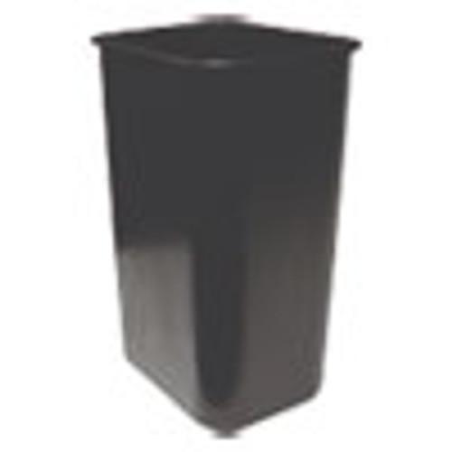 Impact Soft-Sided Wastebasket  Rectangular  Polyethylene  41 qt  Black (IMP77035)
