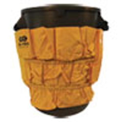 Impact Gator Caddy Vinyl Yellow Bag  9 Pockets  20w x 20 5h  Yellow (IMP7705)