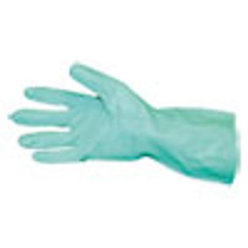 Impact Short-Sleeve Unlined Nitrile Gloves  Powder-Free  Green  Large  Dozen (IMP8211L)