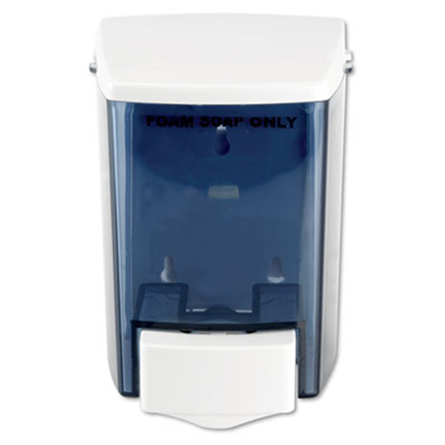 Impact Encore Foam-eeze Bulk Foam Soap Dispenser  See Thru  900 mL  4 5  x 4  x 6 25   White (IMP9335)