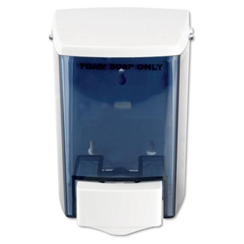 Impact Encore Foam-eeze Bulk Foam Soap Dispenser  See Thru  900 mL  4 5  x 4  x 6 25   White (IMP9335)