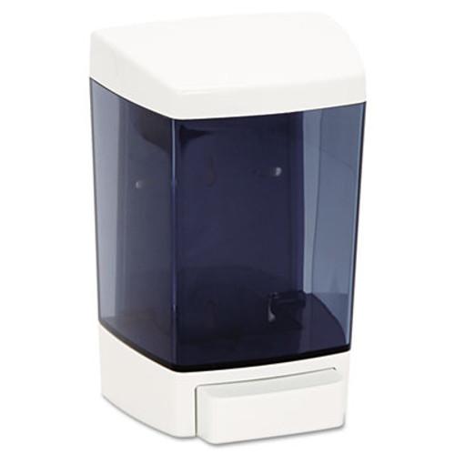 Impact Clearvu ClearVu Plastic Soap Dispenser  46 oz  5 5  x 4 25  x 8 5  White (IMP9346)