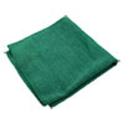 Impact Lightweight Microfiber Cloths  16 x 16  Green  240 Carton (IMPLFK301)