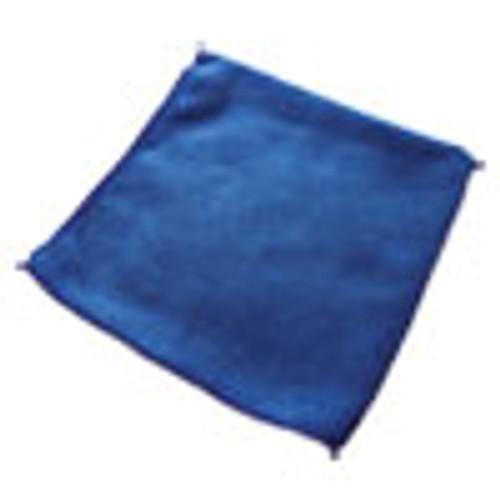 Impact Lightweight Microfiber Cloths  16 x 16  Blue  240 Carton (IMPLFK501)