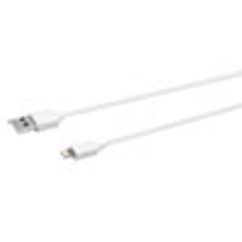 Innovera USB Lightning Cable  3 ft  White (IVR30018)