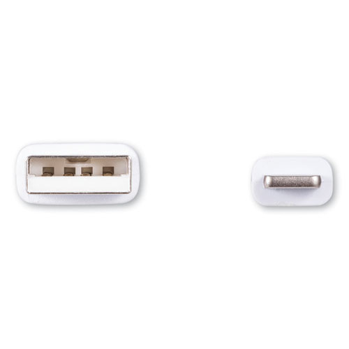 Innovera USB Lightning Cable  6 ft  White (IVR30020)
