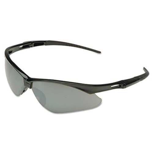 KleenGuard Nemesis Safety Glasses  Black Frame  Amber Lens (KCC25659)
