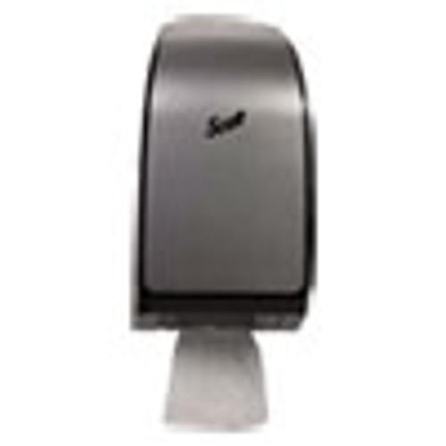 Scott Pro Coreless Jumbo Roll Tissue Dispenser  7 37  x 14  x 6 125   Stainless (KCC39729)