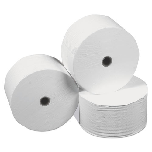 Scott Pro Small Core High Capacity SRB Bath Tissue  Septic Safe  2-Ply  White  1100 Sheets Roll  36 Rolls Carton (KCC47305)