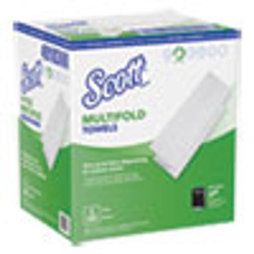 Scott Multi-Fold Paper Towels  9 2 x 9 4  White  250 Pack  8 Packs Carton (KCC49183)