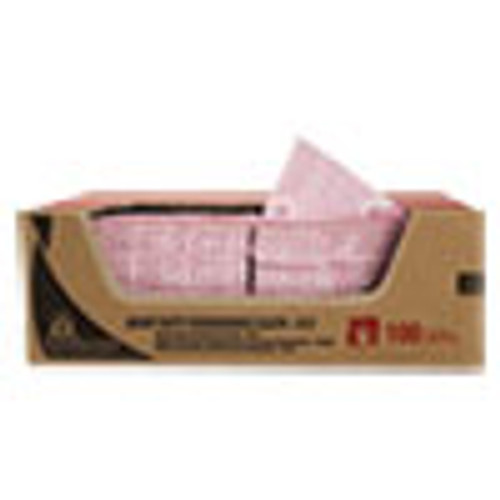 WypAll Heavy-Duty Foodservice Cloths  12 5 x 23 5  Red  100 Carton (KCC51634)