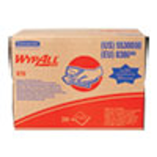 WypAll X70 Cloths  16 8  x 12 1 2   200 Carton (KCC55300)