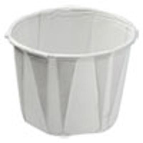 Konie Paper Souffle Portion Cups  0 75 oz  White  250 Sleeve  20 Sleeves Carton (KCI075KPC)