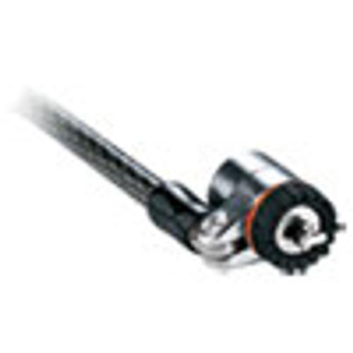 Kensington MicroSaver Keyed Ultra Laptop Lock  6ft Steel Cable  Two Keys (KMW67723)