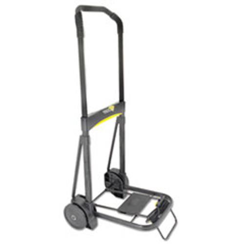 Kantek Ultra-Lite Folding Cart  250 lb Capacity  11 x 13 25 Platform  Black (KTKLGLC200)